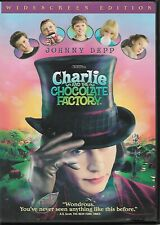 Charlie and the Chocolate Factory (Dvd, 2005, Widescreen) Johnny Depp stars!