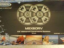 MARINE STEREO BOAT JENSEN SPEAKERS  150 WATT COAXIAL ELECTRONICS MSX60RVR PAIRS