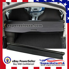 For 08-15 Mercedes-Benz SMART REAR TRUNK BLACK OE STYLE RETRACTABLE CARGO COVER
