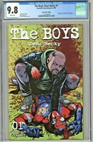The Boys Dear Becky #1 CGC 9.8 Comics Elite Edition Variant Cover Limited 1000