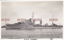 "Royal Navy Real Photo. HMS ""Ivanhoe"" Destroyer & Minelayer. Mined, Scuttled 1937"
