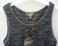 Charcoal, Sleeveless Dress by Apricot … size XS   (BNWT)