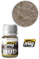 Heavy Mud Texture Moist au Sol 1703 Ammo By Mig Jimenez