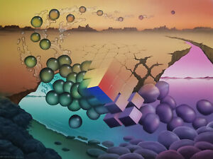 Randy Dunham - Surrealism Painting - Natural Lattice