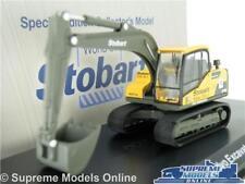 VOLVO EXCAVATOR W0137 MODEL DIGGER EDDIE STOBART 1:76 ATLAS 4664124 RAIL K8