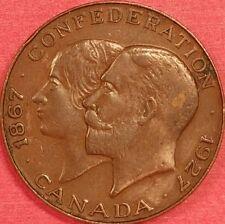 1927 Confederation Medal   ID #62-12