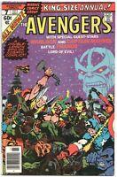 Avengers Annual 7 Marvel 1977 FN Thanos Captain America 1st Infinity Gem