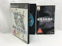 SONY PS2 Japan Metal Gear Solid 2 Sons of Liberty PlayStation 2 NTSC-J
