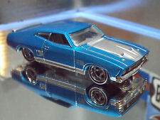 Hot Wheels Special Custom Treasure Hunt '73 FORD FALCON XB in Blue - Real Riders