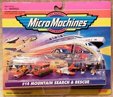 Micro Machines Mountain Search & Rescue Set #14 NIB MINT