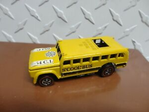 Hot Wheels Original Redline Enamel Yellow S'Cool Bus See Pictures for Condition