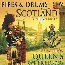 Pipes & Drums From Scotland - Ceilidh Lines CD (2000) LIKE NEW