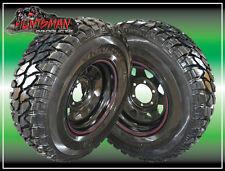 "CARAVAN 15X7 4WD 6 STUD RIM & HIFLY 31"" MUD TERRAIN TYRE 31 10.5 15 L/T TRAILER"