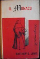 M.G. Lewis IL MONACO longanesi 1963 I edizione