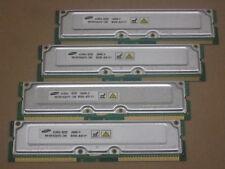 1GB 4 x 256MB Samsung 800-40 rdram rambus rimm non ecc