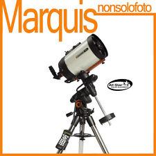 """TELESCOPIO CELESTRON Advanced VX8"""" SCT EDGE HD + alimentatore Astronomia Marquis"""