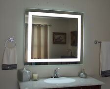 """Lighted vanity mirror, led lighted, wall mounted MAM84036 40"""" Wide x 36"""" Tall"""
