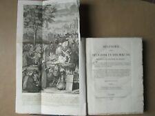 PICART : HISTOIRE RELIGIONS MOEURS DES PEUPLES, 1816/19. 6 vol. in-4, 428 pl.