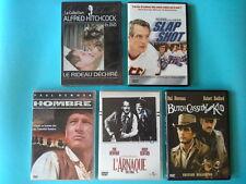 1 Autographe Robert Redford + lot 5 DVD Paul Newman Butch Cassidy Hombre Zone 2