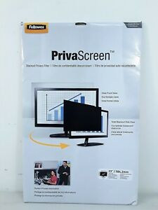 """Fellowes 23"""" Widescreen-PrivaScreen Privacy Filter #3990"""