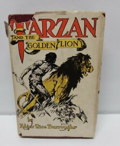 EDGAR RICE BURROUGHS - TARZAN AND THE GOLDEN LION- 1924 A C McCLURG