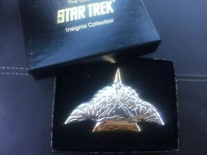 Star Trek, Franklin Mint, Bird Of Prey, Sterling Silver, Certificate