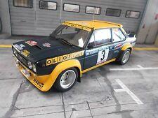 FIAT 131 ABARTH RALLY mis. 4 WM Portogallo 1977 WINNER Alen #3 CIN OLIO KYOSHO 1:18