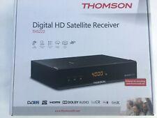 New - Thomson THS222 DVB-S2 Full HD Free To Air Satellite Receiver