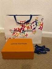 New Authentic Louis Vuitton Empty Purse Gift Box w/ Limited Gift Bag Ribbon
