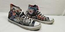 Converse Chuck Taylor All Star Superman High Top Canvas Shoes Mens 12 Womens 14