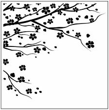 Cherry Blossom 126585 Square Embossing Folder for Cardmaking, Scrapbooking, etc