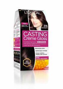 L'Oreal Paris Casting Creme Gloss Hair Color For Men & Woman  BURGUNDY COLOUR
