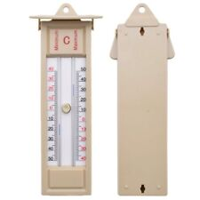 Traditional Max-Min Press Button Thermometer - 40 - + 50 ℃ Plastic+Acrylic