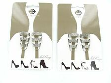 2 Sets Shoes/Accessories - Erica Giuliani - Silver Heel Rings