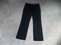 "Women's Black Trousers Size 8 Inside Leg 28"" - Dorothy Perkins"