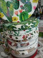 Coprisedia con Alette PAGO POCO Coprisedia o Federe Fantasia Cactus con Due Lacci o con Alette Mis:40x40 100/% Cotone Made in Italy Novita 2021!!!!