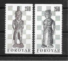 i343 FARÖR/ Schachfiguren MiNr 82/83 **