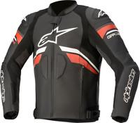 Alpinestars GP Plus R V3 Rideknit Leather Jacket Black/White/Red US 42 / EU 52