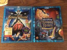 Seal Sleeping Beauty Platinum  + Snow White and the Seven Dwarfs Diamond Blu ray