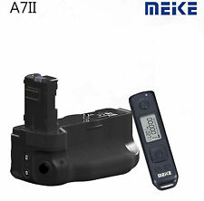 Meike MK-A7II Wireless Control Battery Grip Pack f Sony A7 II A7R II as VG-C2EM