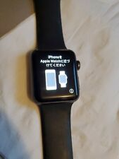 Apple Watch Series 2 38mm black Band Parts Or Repair Only