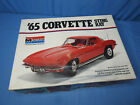 Rare! Vintage 1965 Monogram Corvette Sting Ray Coupe 1/8 Model Car Kit No. 2600