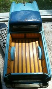antique BANDAI 1956 RANCHERO, vintage friction TOY, sold ones went for $214-$300