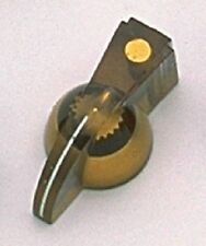 Gold Pointer Knobs for Electric Guitar and Bass