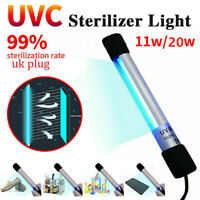 Portable LED Disinfection Lamp Tube Handheld UVC Sterilizer Germicidal Lights