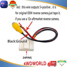 Video Harness for Toyota GPS Stereo Reverse camera Hiace Camry Hilux 14-17 Prado