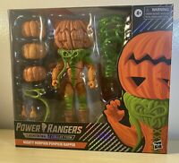 Power Rangers Lightning Collection MIGHTY MORPHIN PUMPKIN RAPPER Black Box