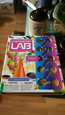 NIB CHEMISTRY LAB SARAH ANGLISS OVER 50 EXPERIMENTS KIT EDUCATIONAL NEW?