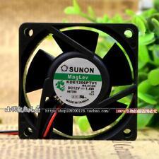 SUNON Maglev KDE1206PTV1 6025 60mm x 25mm Cooler Cooling Fan 12V 1.8W 2Pin B43