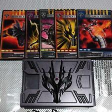 CSM Kamen Rider Ryuki RYUGA Card Deck Advent Card VBuckle Dragvisor New Bandai